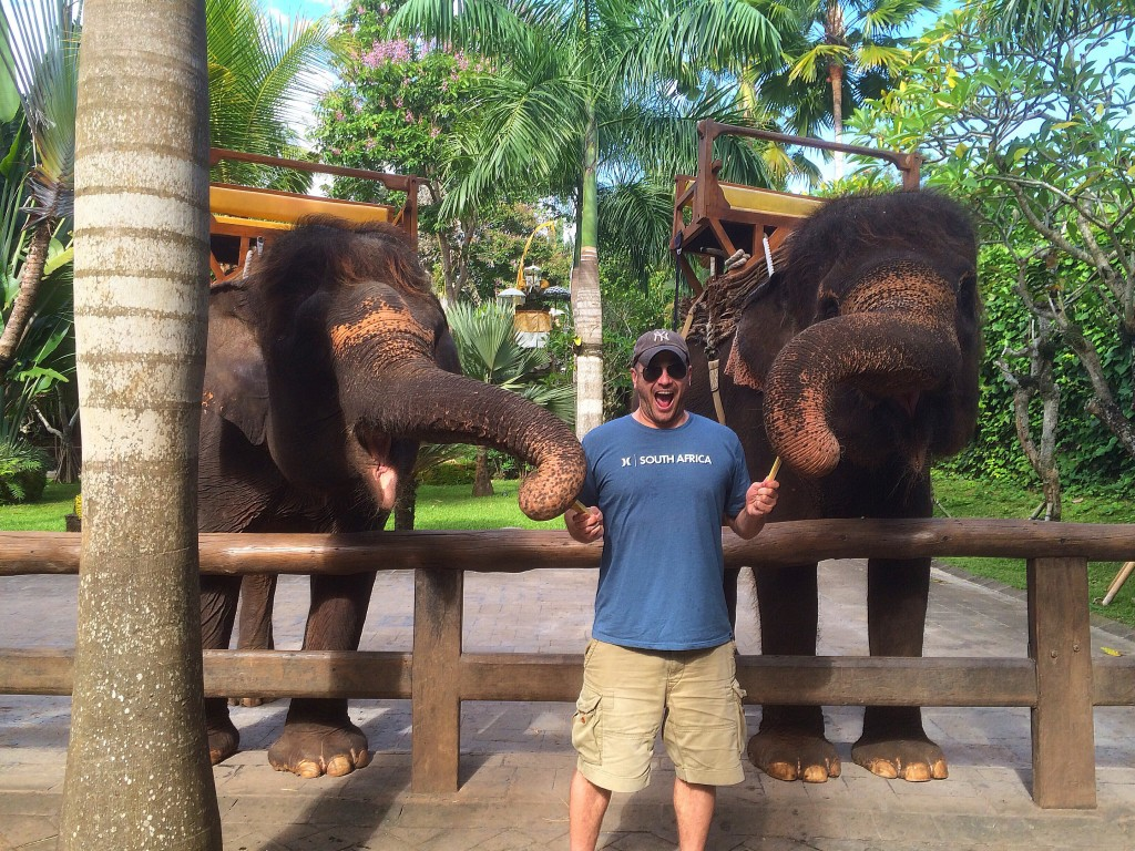 Lee Abbamonte, elephants, Bali, Indonesia