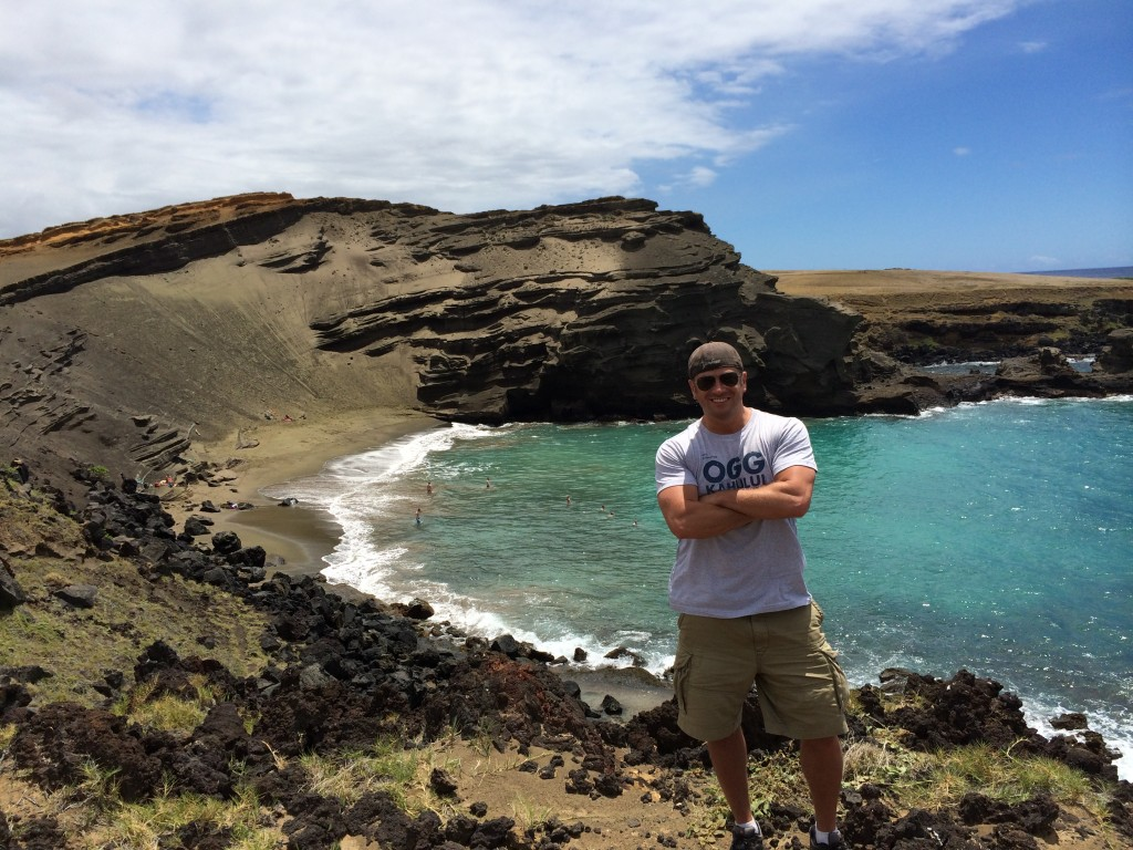 Lee Abbamonte, Green Sand Beach, Big Island, Hawaii