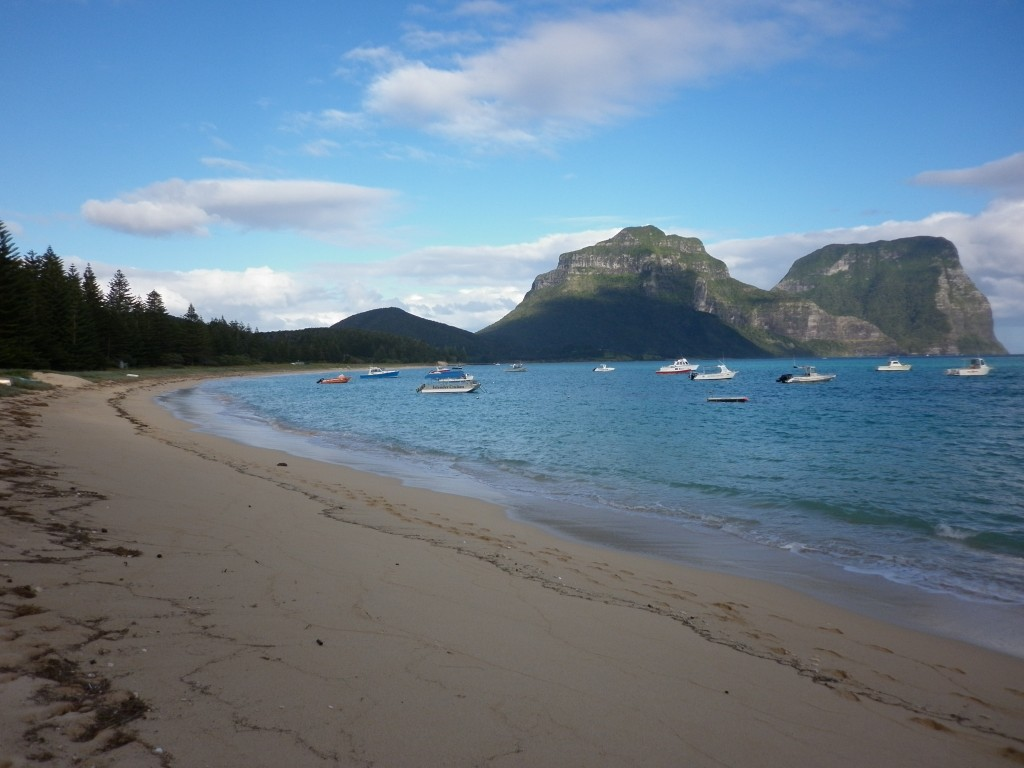 Lord Howe Island, beach, Australia, New South Wales, island