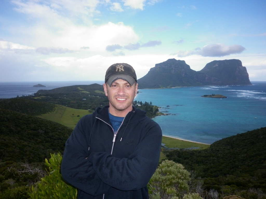 Lord Howe Island, Kim's Lookout, Australia, New South Wales, island