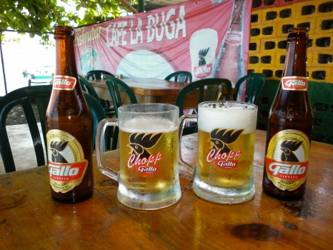 Lee Abbamonte Gallo beer
