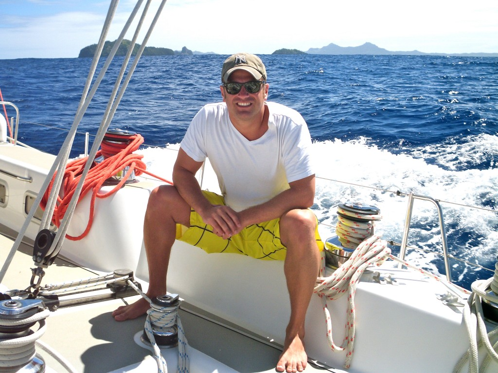 On board the SV Xplore sailing to and from Pitcairn Island
