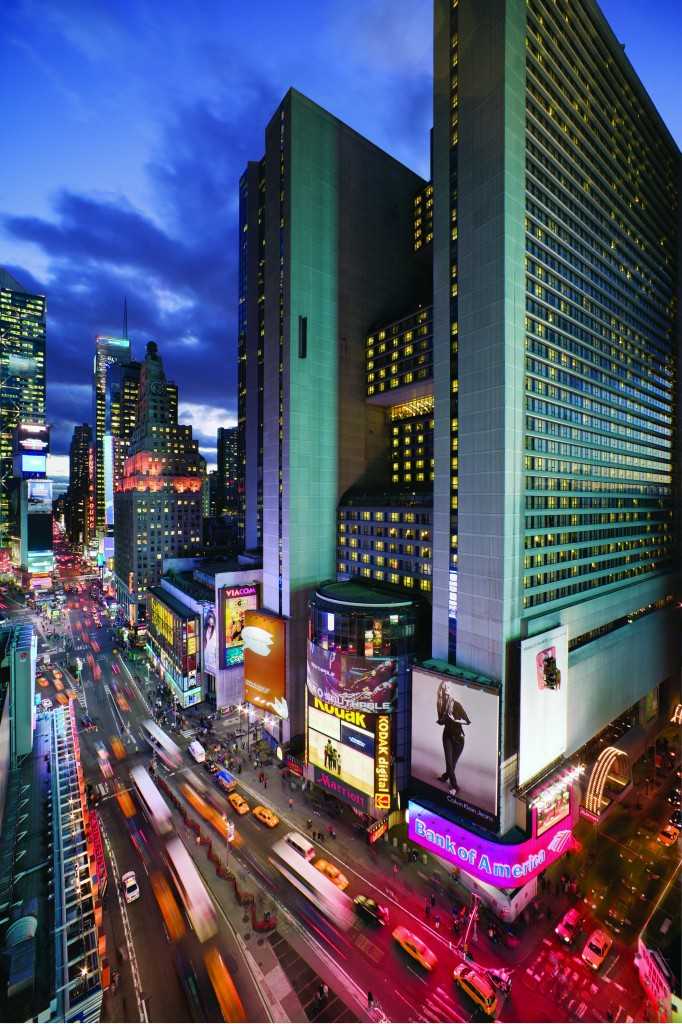 New York Marriott Marquis Hotel At Times Square