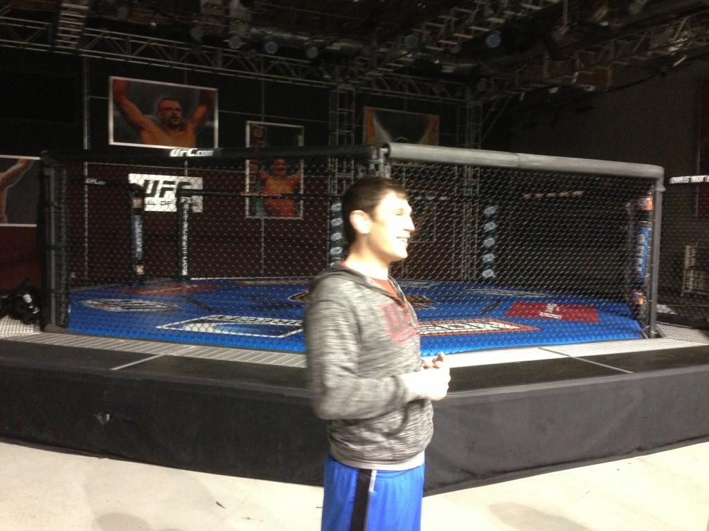 UFC, UFC Training Center, Las Vegas, Vegas, Amir Sadollah, MMA