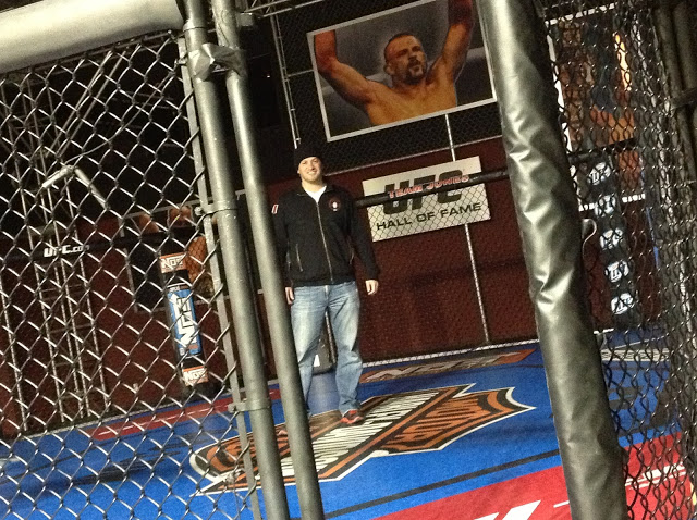 UFC, UFC Training Center, Las Vegas, Vegas, octagon, MMA
