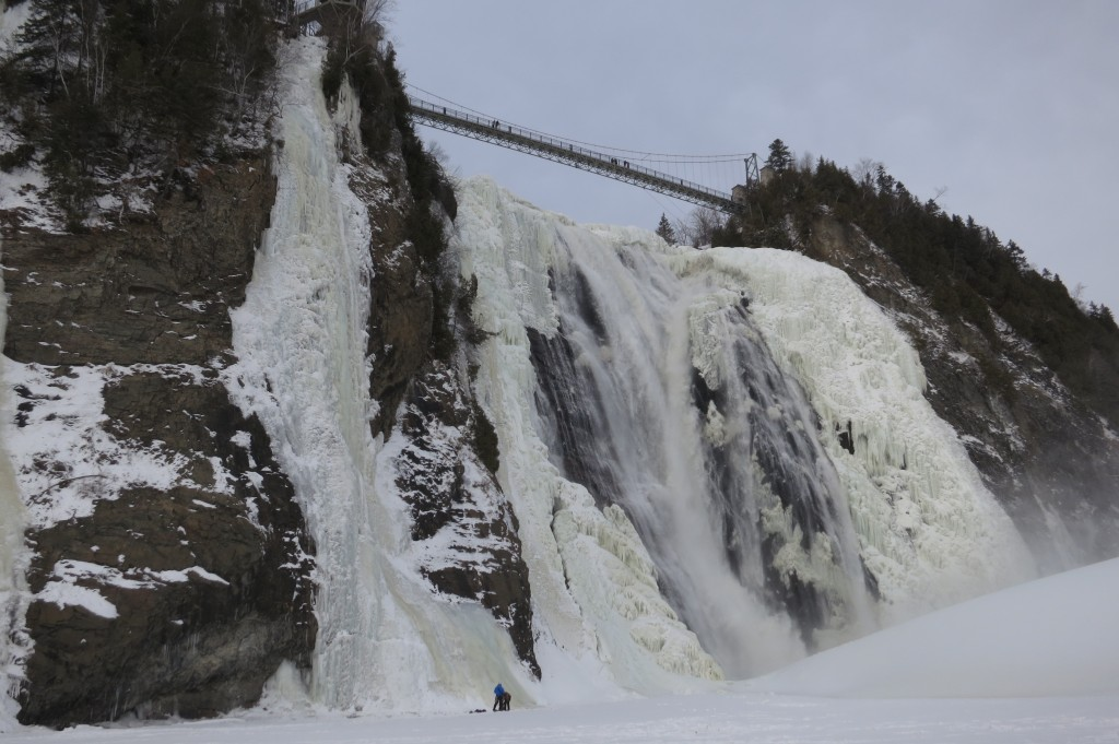 Montmorency Falls, waterfall, ice climbing, Quebec, Quebec City, Canada