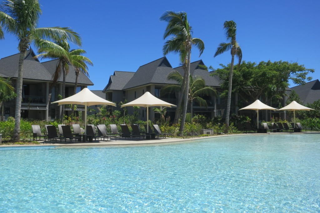 Intercontinental Hotels, IHG Group, Intercontinental Fiji, sunset, pool, Fiji, Pacific