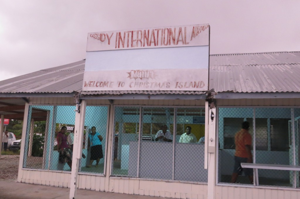 Kiritimati, Kiribati, Christmas Island, travel, Fiji, Air Pacific, airport