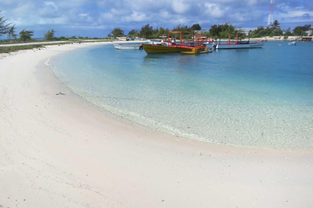 Kiritimati, Kiribati, Christmas Island, travel, Fiji, Air Pacific, beach, marina, boat