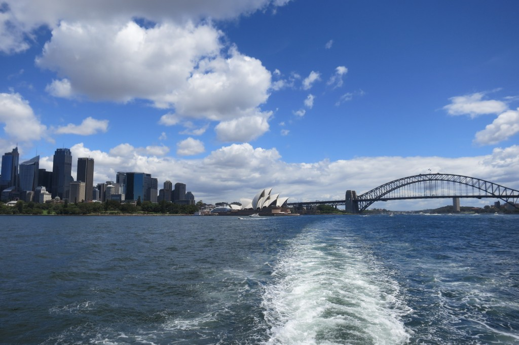 Manly Ferry, Manly, Sydney, Australia, view