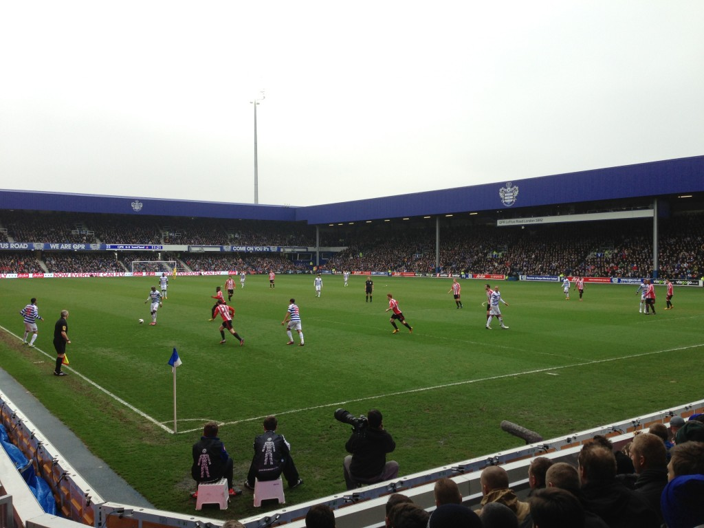 Loftus Road, QPR, Queens Park Rangers, London football, sport, sports, We Are QPR