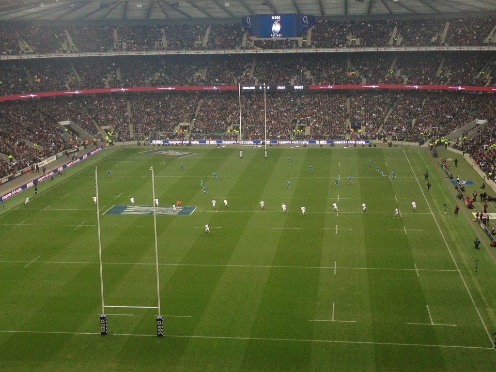 Twickenham, rugby, sport, sports, rugby union, six nations, England, Italy, London