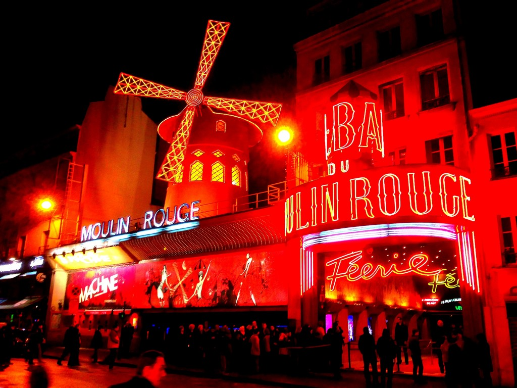 Moulin Rouge, Paris, France, cabaret