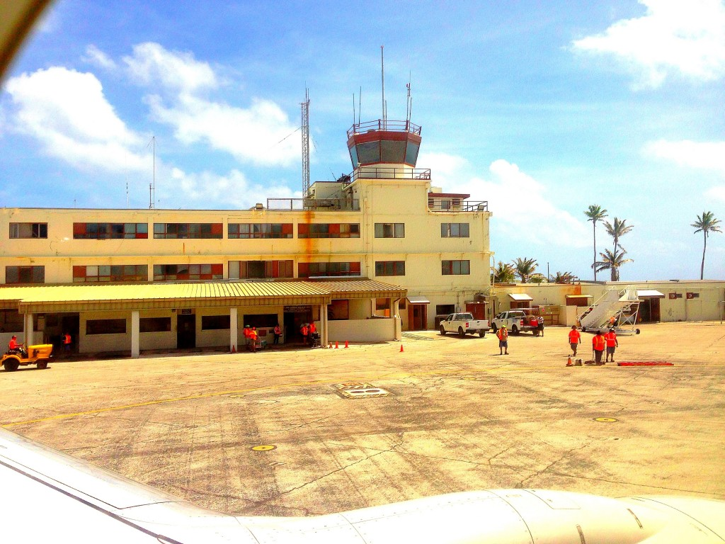 Kwajelein Airport, Kwajelein, Marshall Islands, Majuro, military installation