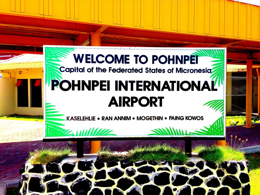 Pohnpei, Micronesia, FSM, Federated States of Micronesia, Pohnpei Airport, airport