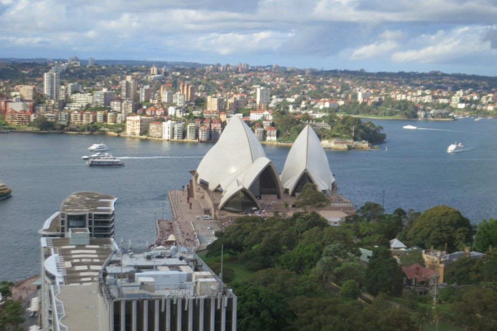 Intercontinental Sydney, Intercontinental, Sydney, view