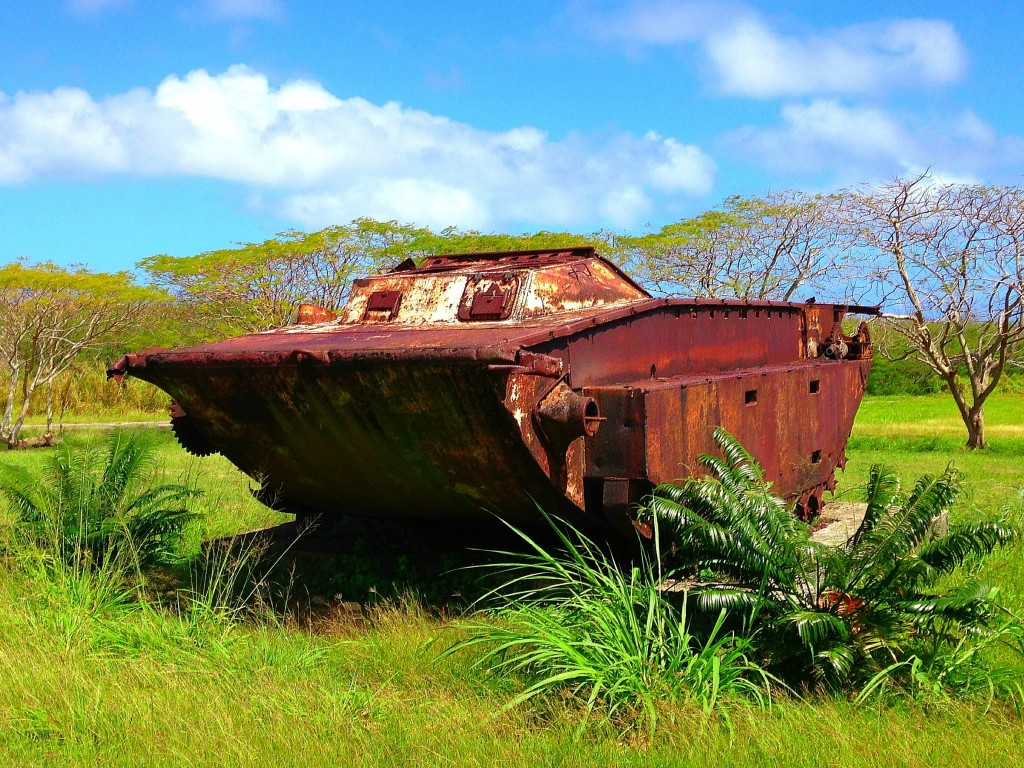 Tinian, US invasion, Chulu Beach, World War II