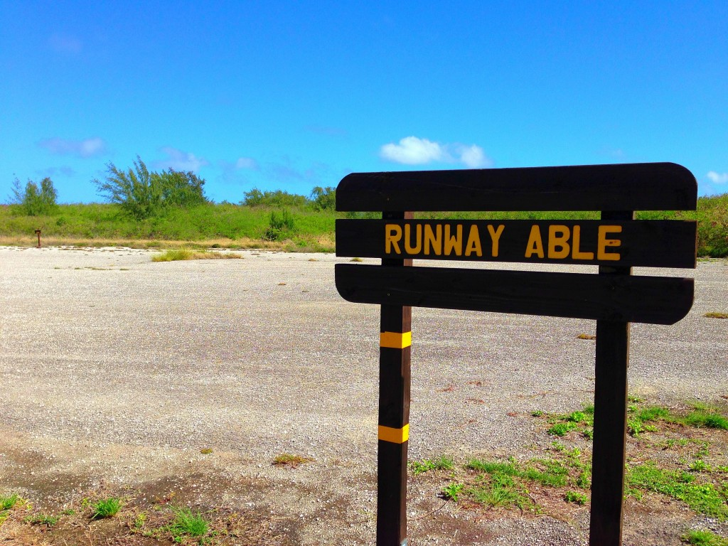 Tinian, Runway Able, Enola Gay, World War II, Pacific