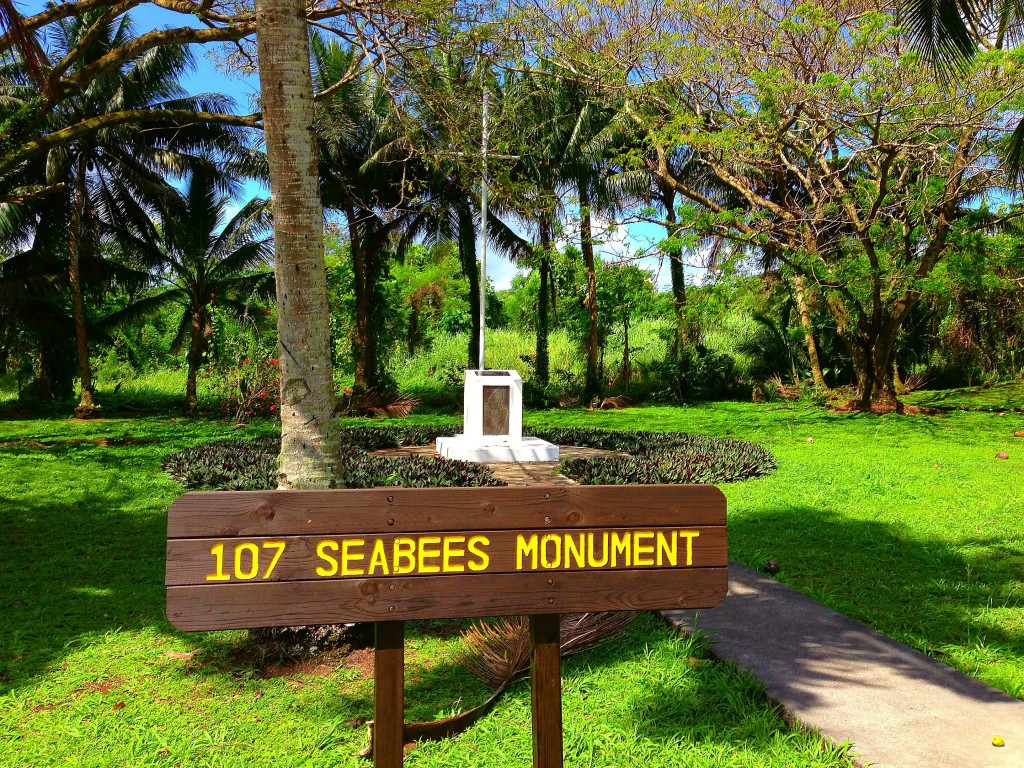 107 Seabees Monument, Tinian