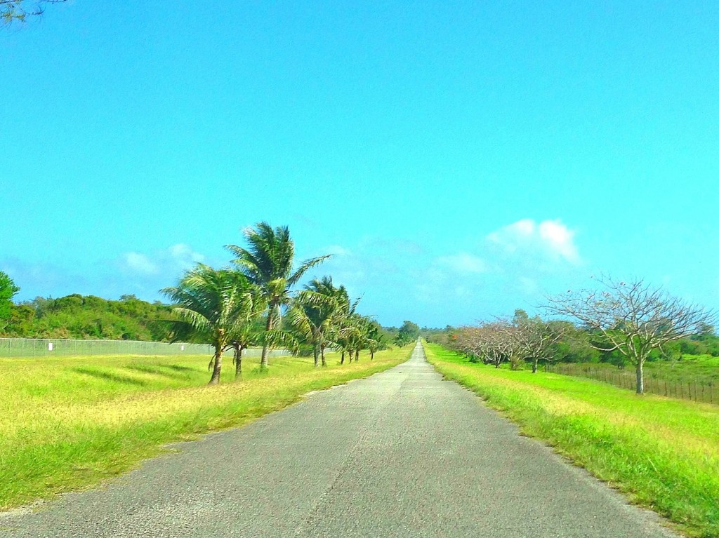 Tinian, road on Tinian, Broadway