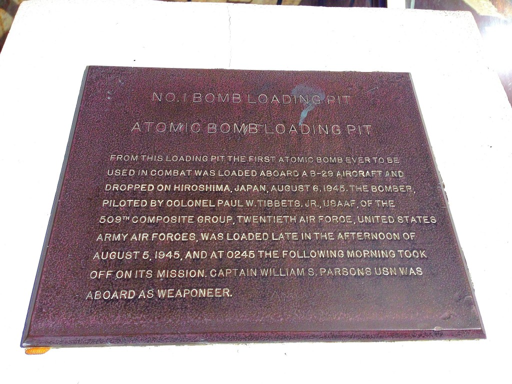 Tinian, Atomic Bomb Pits, Enola Gay, World War II, Hiroshima, Pacific