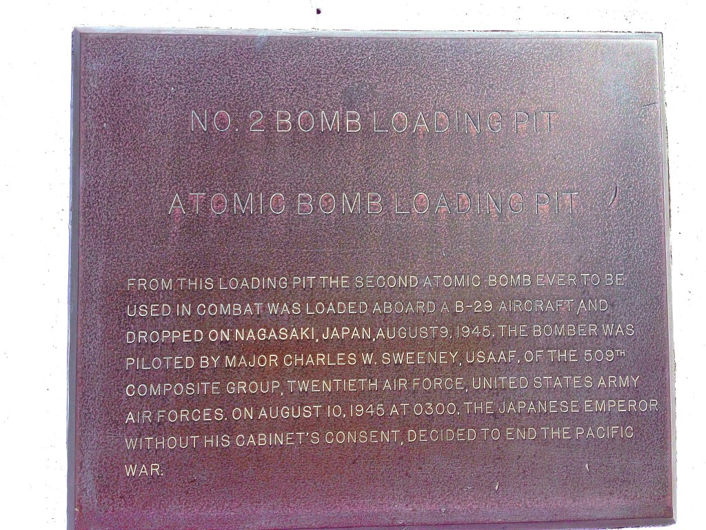 Tinian, Atomic Bomb Pits, Enola Gay, World War II, Nagasaki, Pacific