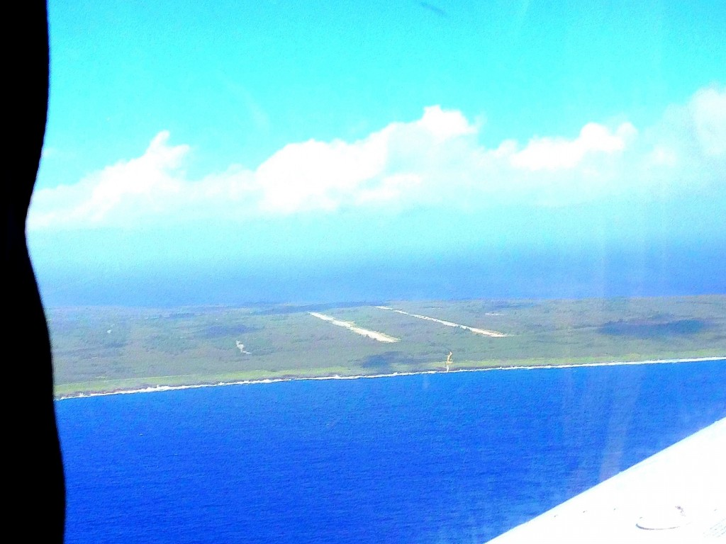 Tinian, Atomic Bomb Pits, Enola Gay, World War II, Hiroshima, Pacific, Runway Able, view of tinian from the air