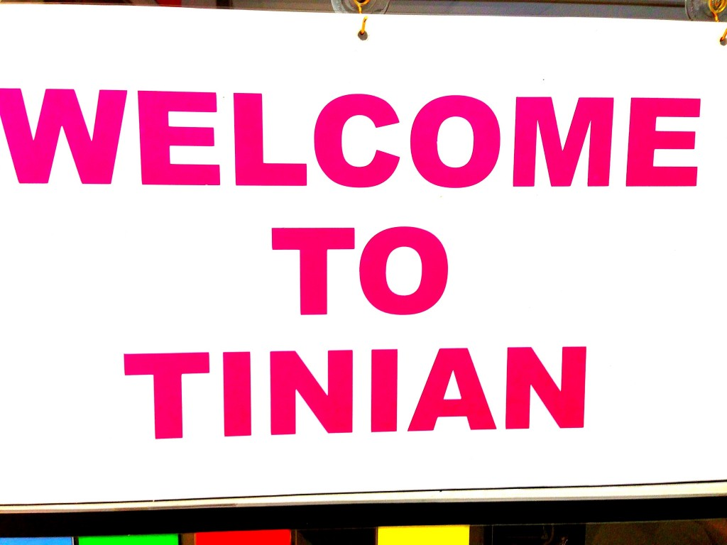 Tinian, Welcome to Tinian, Tinian Airport