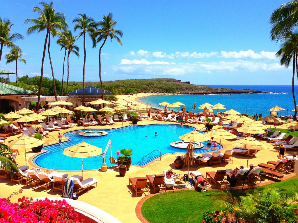 Four Seasons Resort Lanai at Manele Bay, Four Seasons Lanai at Manele Bay, Four Seasons Lanai, Manele Bay, Four Seasons Lanai pool, pool, Lanai, Hawaii, Lana'i, travel Four Seasons Hotels, Four Seasons