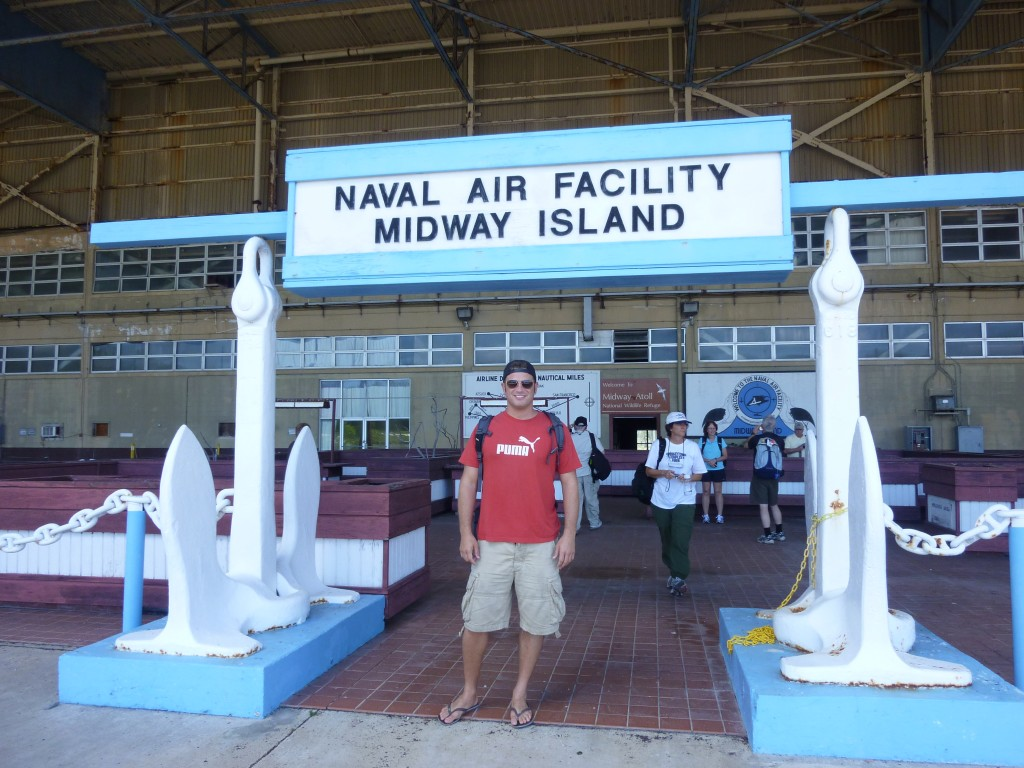 Lee Abbamonte, Midway Island, travel