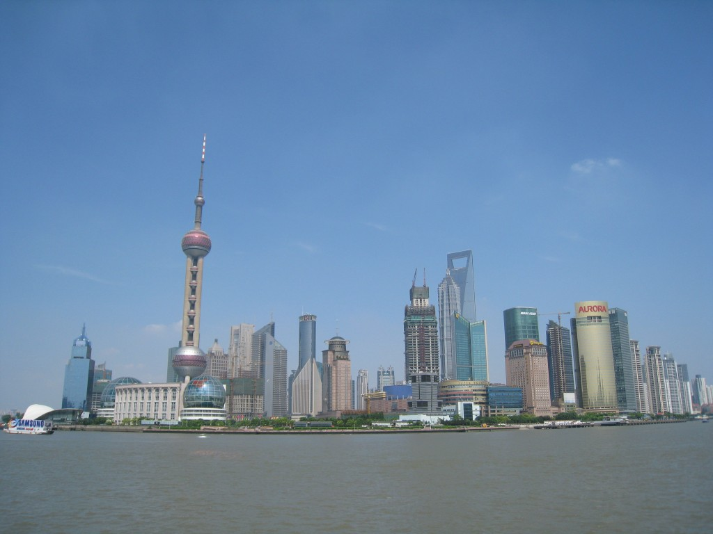 Shanghai Skyline, Shanghai, China
