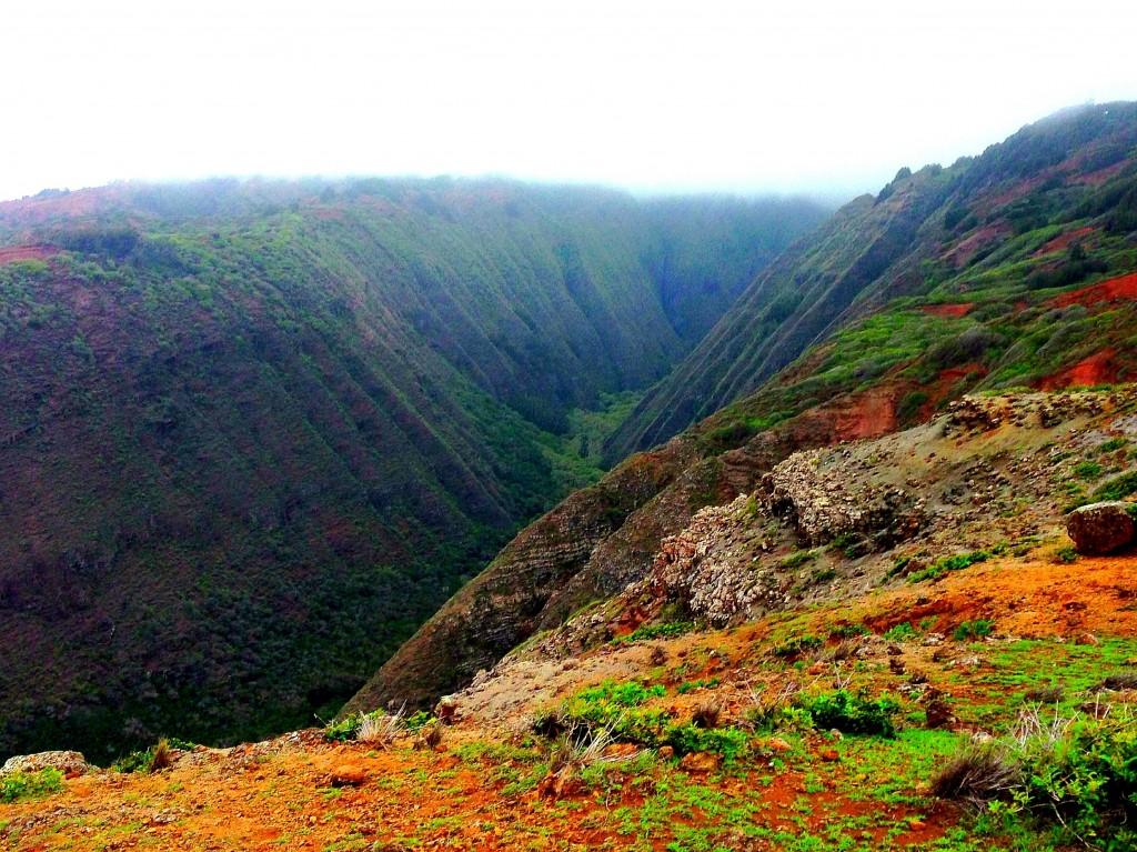 Lanai, Koloiki Ridge Trail, Hawaii, Pacific Ocean, Hawaiian Islands