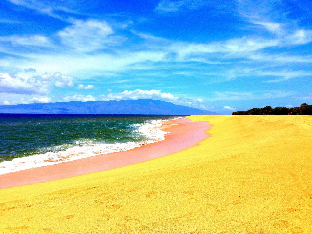 Lanai, offroading, Polihua Beach, Hawaii, Pacific Ocean, Hawaiian Islands