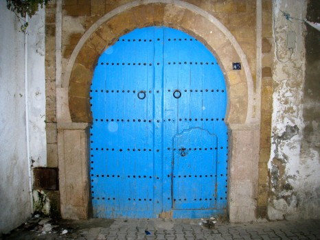 Tunis, Tunisia, door, carthage