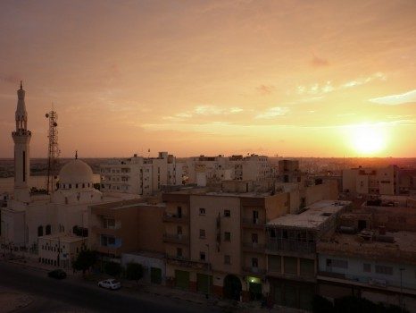 Tobruk, Libya, Sunset, Africa, travel