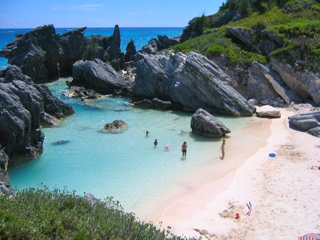 Horseshoe Bay Beach, Bermuda, beach, island, travel