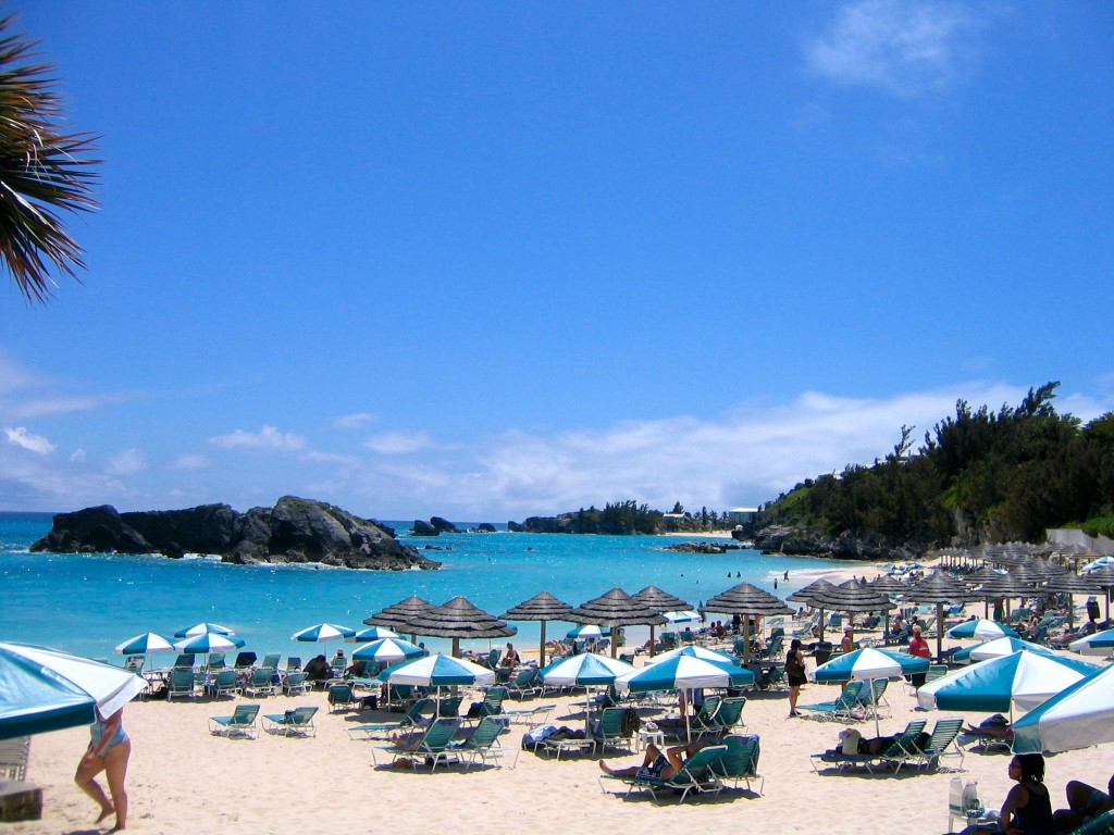 Fairmont Southampton Beach, Bermuda, beach, island, travel