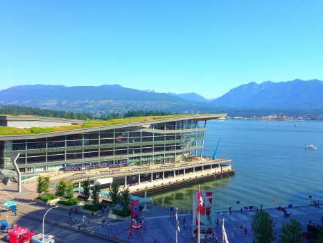 View, Vancouver Convention Center, Fairmont Waterfront