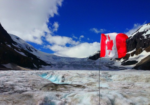 Columbia Icefields, Athabasca Glacier, Icefields Parkway, Banff National Park, Canada, Alberta