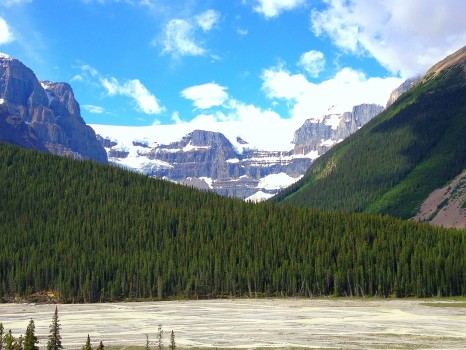 Icefields Parkway, Banff National Park, Canada, Alberta