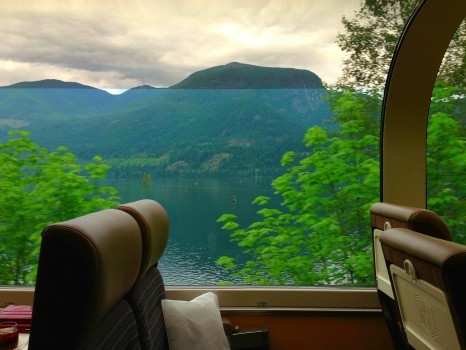 Rocky Mountaineer, train, Canada, Vancouver, Jasper, British Columbia, Alberta
