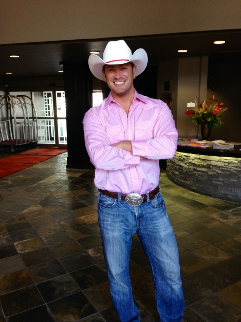 Lee Abbamonte, cowboy, stampede, Calgary