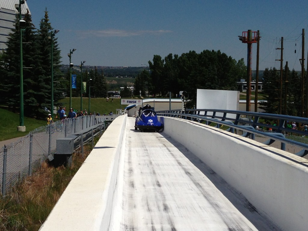 Calgary, bobsled, 1988 Winter Olympics, Canadian Olympic Park
