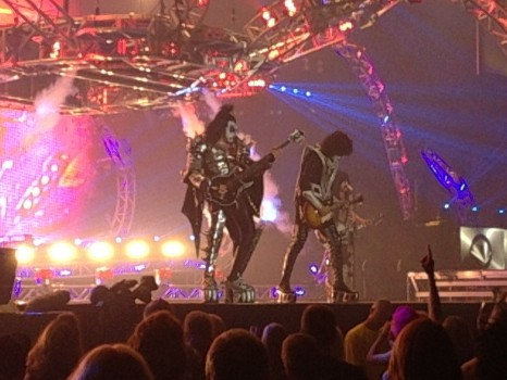 Kiss in Regina, Regina, KISS, music, travel, Canada, Saskatachewan, Monster Tour, Gene Simmons, Paul Stanley