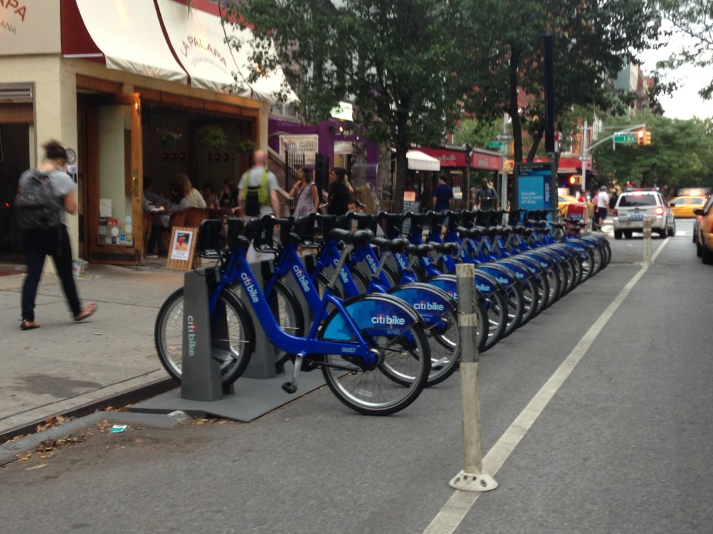 Citi Bikes, New York