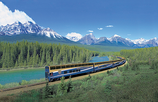 Riding Through the Canadian Rockies on the Rocky Mountaineer Train