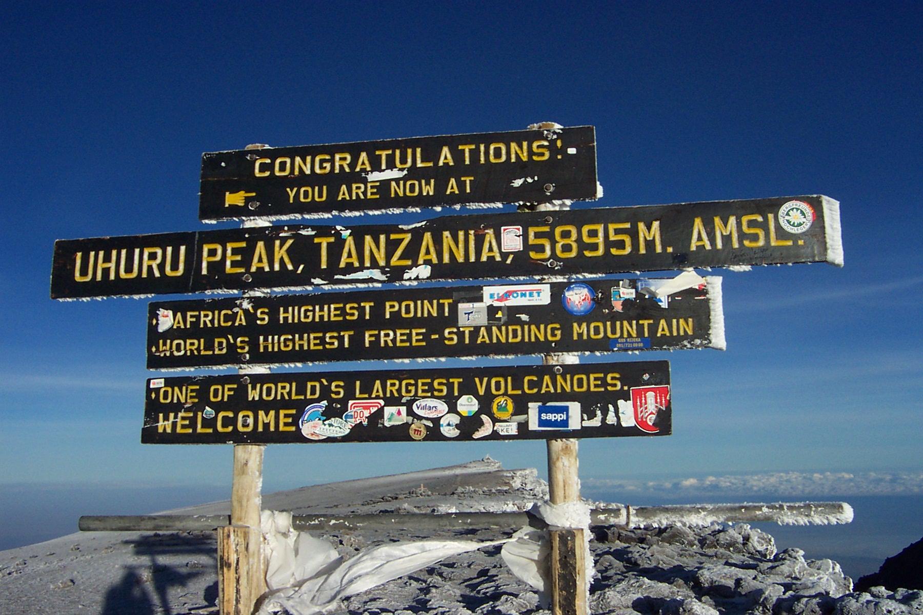 Mount Kilimanjaro Slideshow