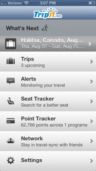 TripIt, TripIt Logo, Concur, travel apps