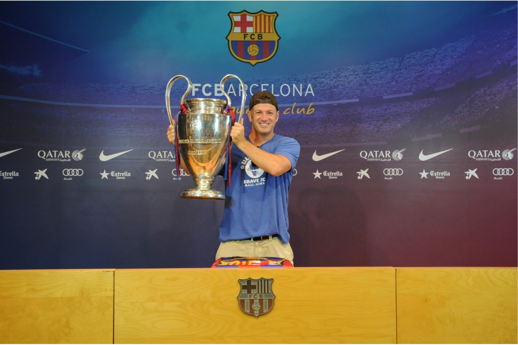 FC Barcelona, Nou Camp, Camp Nou, Camp Nou Experience, Barcelona, Spain, soccer, football, La Liga, Champions League Trophy