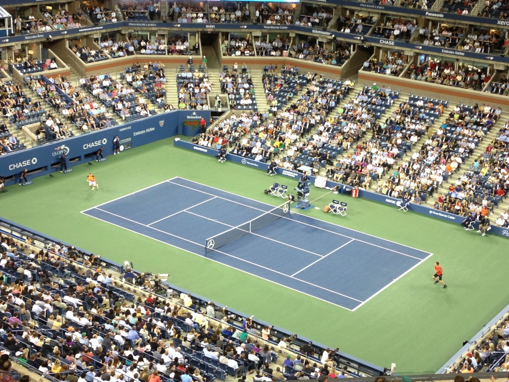My US Open Experience, US Open, Lee Abbamonte